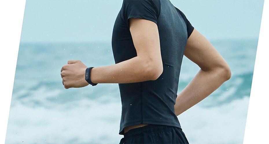 pulseira de freqüência cardíaca fitness 135 mah