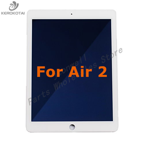 FOR Air 2 A1566 A1567 100% Tested Good Quality LCD Display Touch Screen Digitizer Full Assembly Air 2 LCD AssemblyFOR Air 2 A1566 A1567 100% Tested Good Quality LCD Display Touch Screen Digitizer Full Assembly Air 2 LCD Assembly