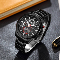 Curren 8275 new 2017 top brand luxury Watch Men relogio masculino quartz watch fashion casual alloy wristwatches 3