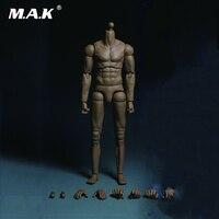 1:6 Homme Muscle Figure Corps Bras Double Articulation MB001 pour 12 pouces Action Figure
