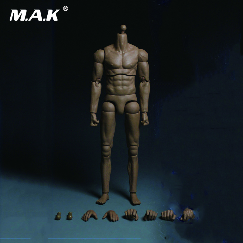 1:6 Male Muscle Figure Body  Arm Double Joint MB001 for 12 inches Action Figure 1 6 bloodstain normal wolverine claw hands type model for 12 inches male action figure