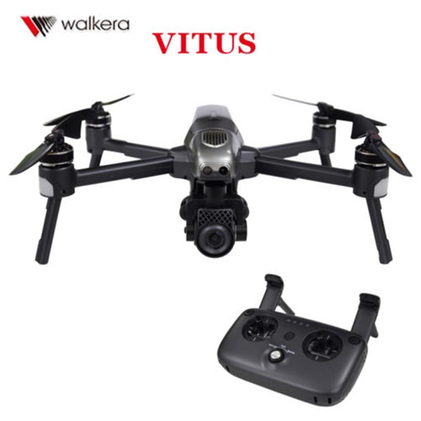 Drone quadrirotor pliable d'origine Walkera VITUS 320 avec contrôleur de DEVO-F8S de caméra HD 4 K et Drone WIFI FPV à 3 axes
