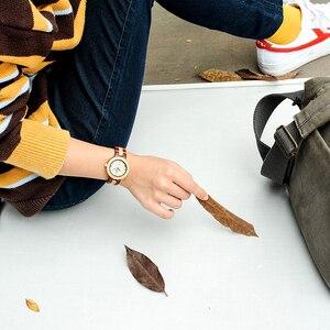 Image 5 - Reloj mujer BOBO ptak kobiet zegarki japonia ruch zegarki drewniane Band kwarcowy drewna zegarek dla kobiet C M19