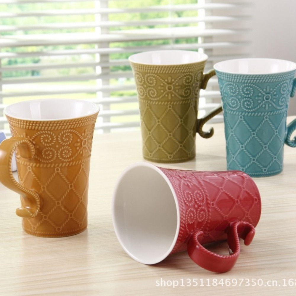 meeting room 39citizen office39. Office Coffee Cups. Plain 1pcs New Keyama Candy Color Elegant Embossed Glaze Ceramic Breakfast Meeting Room 39citizen Office39