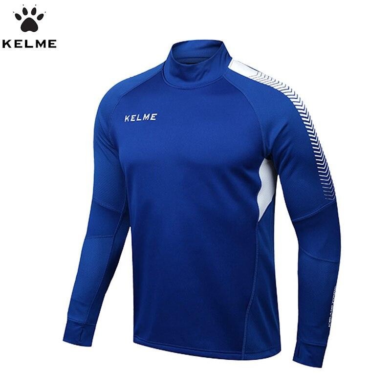 KELME maillots de Football hommes Survetement Football 2017 manches longues Football formation maillot Fitness vêtements K089
