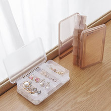 PP transparent 2 layers Makeup Organizer Jewelry Box Creative Cosmetic Organizer Ring Lipstick Rack Necklace Display Organizer(China)