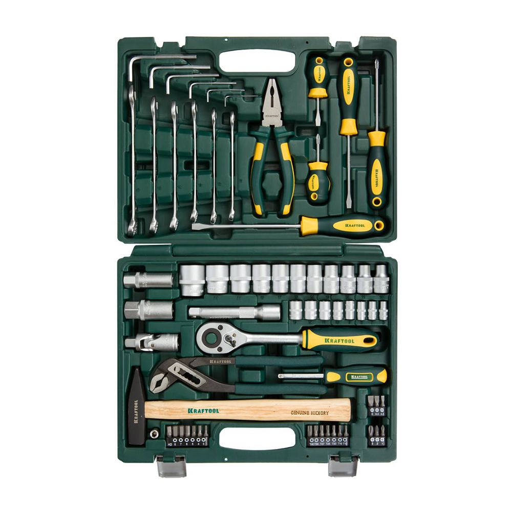 Set of hand tools KRAFTOOL 27976-H66 набор инструмента kraftool expert 27976 h66