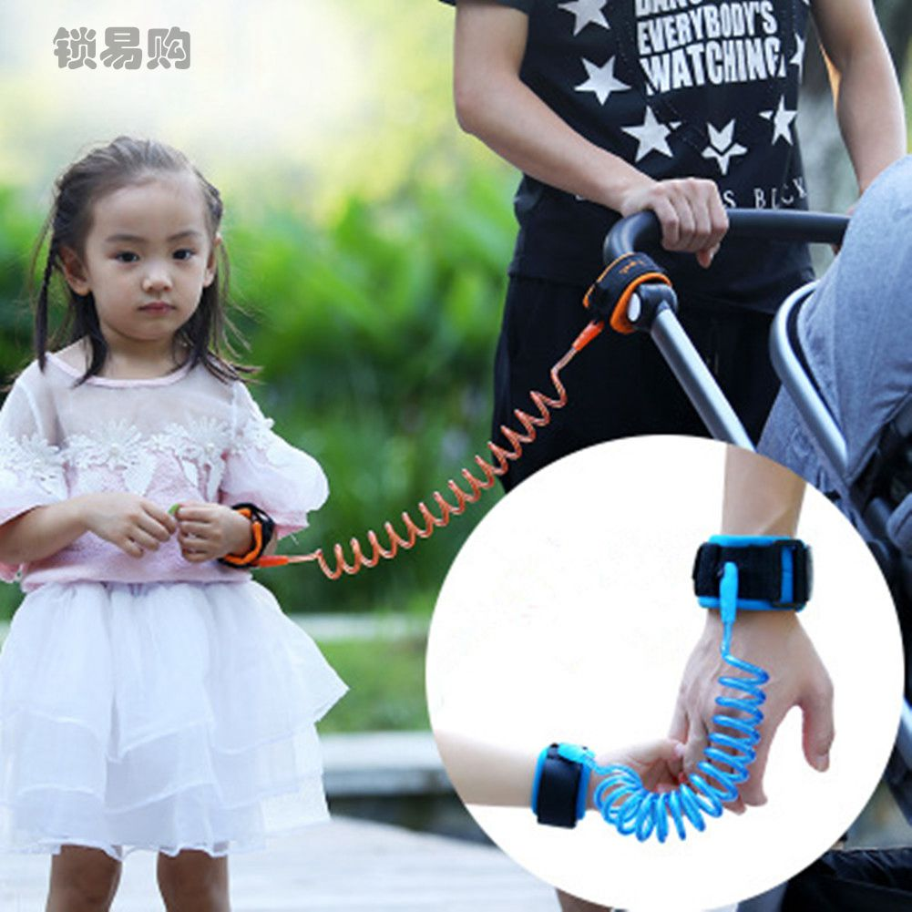 Toddler Baby Kids Safety Harness  Cut Continuously Child Leash Anti Lost Wrist Link Traction Rope Locktraction  CZL8057 ледянка 1toy cut the rope cut the rope