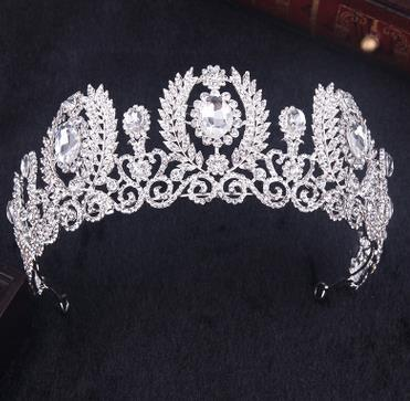 Crystal Wedding Crown Queen...