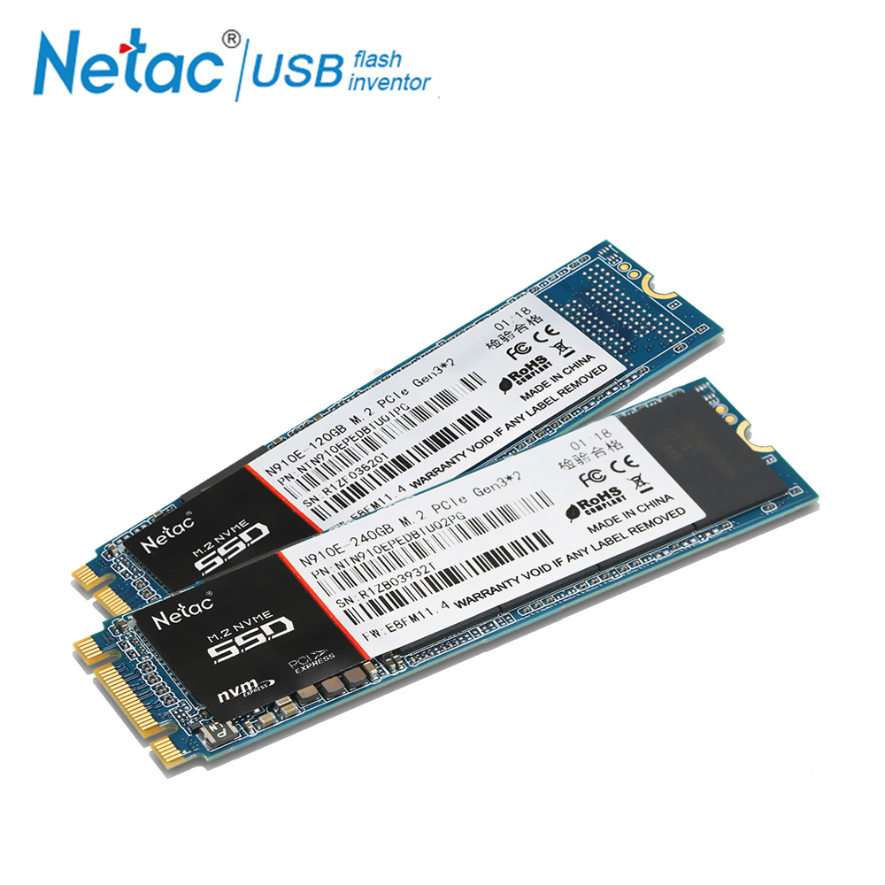 Netac M.2 SSD 240 GB 120GB Internal Solid State Drive 910E M2 240GB 120 GB NVMe 1500MB/s Read Hard Drive SSD For Laptop Computer ssd 756642 b21 240 gb 2 5inch sata 6g solid state drive 1 year warranty