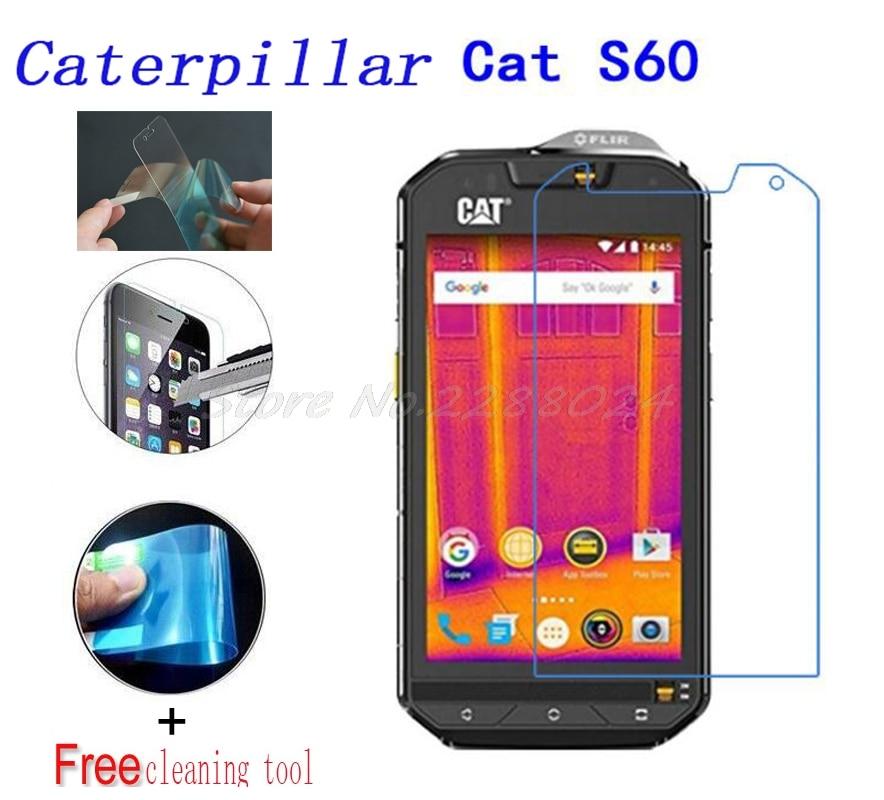 2PCS Ultra-thin Nano-proof membrane not glass Screen Protector for Caterpillar Cat <font><b>S60</b></font> S50 S50c S40 S30 <font><b>smartphone</b></font>