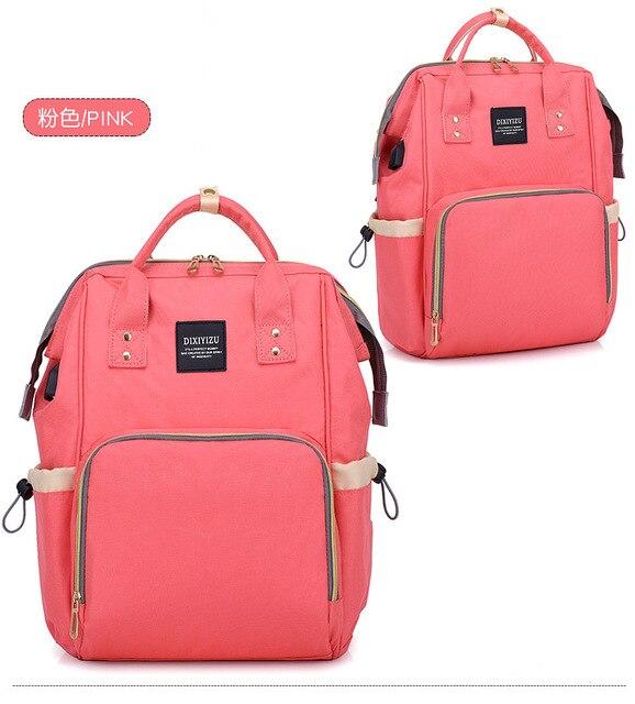afe47489d5e4 2018 new mommy backpack women s travel backpack student bag thermal  insulation multi-functional women s bottle bag 53.06 €