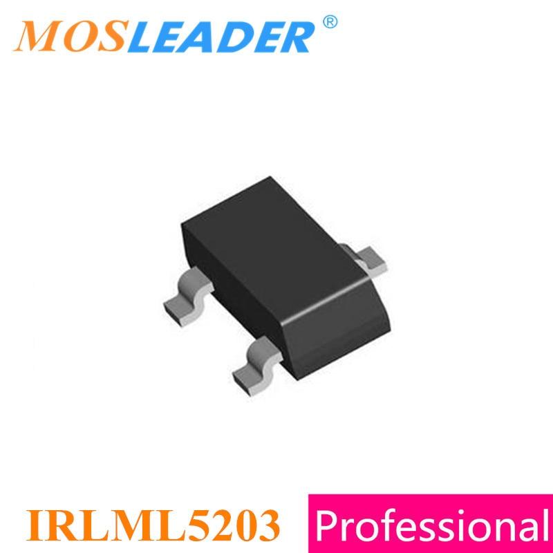 Moaleader IRLML5203 SOT23 1000PCS 3000PCS P-Channel 20V 30V 3A IRLML5203TR IRLML5203TRPBF IRLML5203PBF High quality free shipping 1000pcs lot p channel fet ao3407 word a79t 4 3a 30v sot23 mosfet p ch