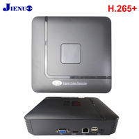 JIENUO Mini NVR 4CH 8CH H265+ ONVIF 2.0 Recorder 4 Channel 8 Channel for IP Camera NVR System Surveillance Security HD CCTV NVR