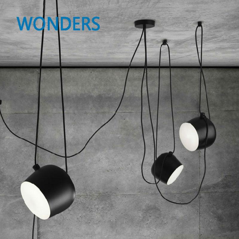 Modern Nordic Fashion DIY Personality Iron Pendant Light Restaurant Cafe Pendant Lamp Flower-Drum Bar Lighting Fixture Decor цена и фото