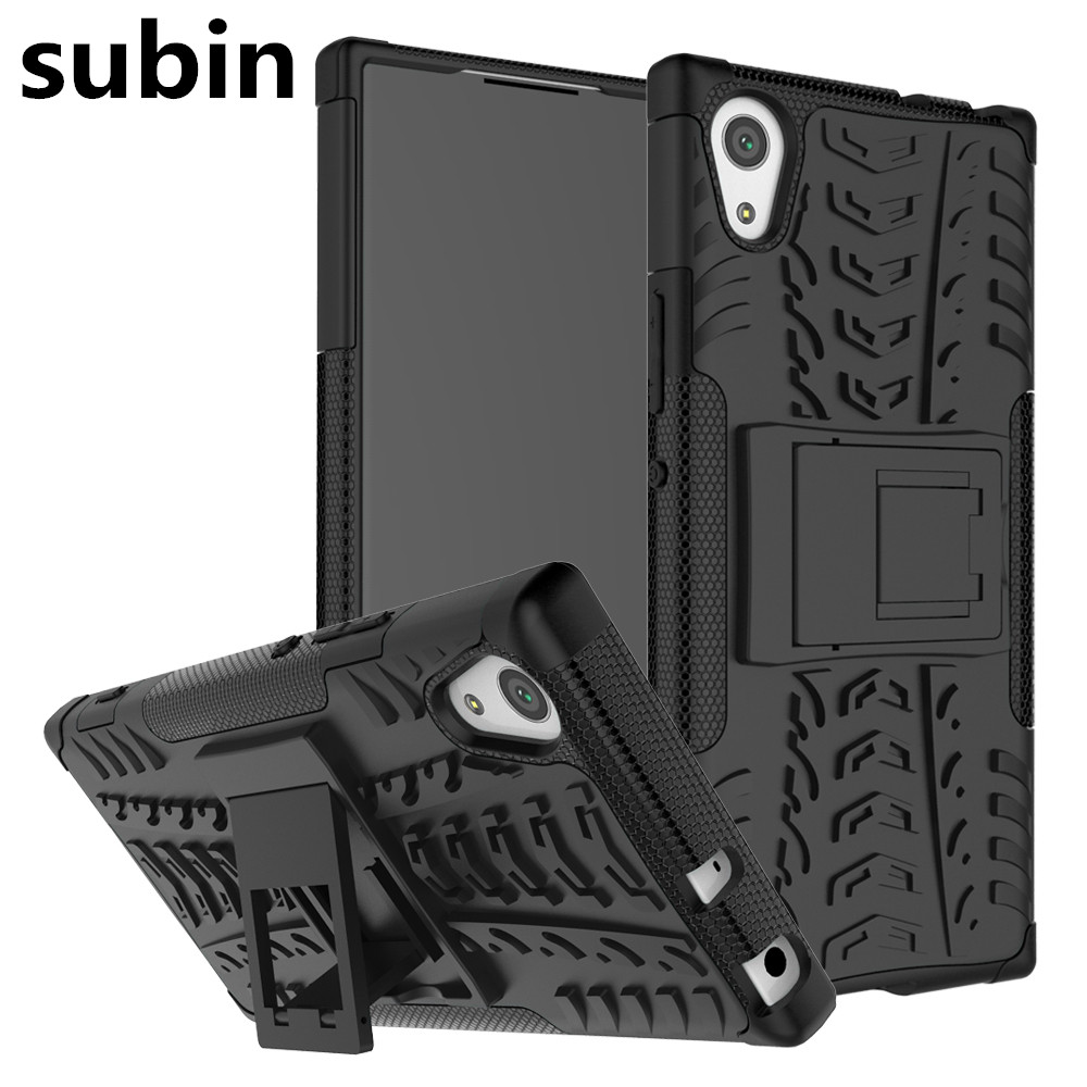 Sony Xperia XA1 G3121 G3123 G3125 Case Hybrid TPU + PC Armour Hard Silicone հեռախոսի կափարիչի համար Sony Xperia XA1 Dual G3112 G3116