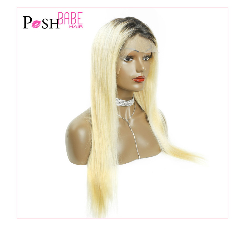 Blonde Lace Front Human Hair Wig (8)