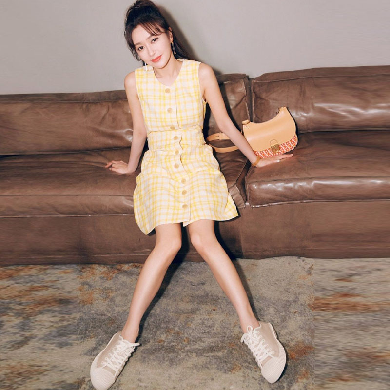 Mini Dress Girls High Quality Summer New Women S Fashion Party Casual Sexy Workplace Vintage Elegant