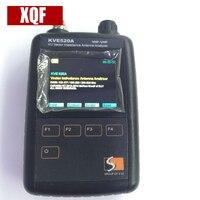 XQF новейший KVE520A VHF/UHF VU векторное сопротивление анализатор антенны + 5 шт. адаптеры для любительских радиоприемников KVE 520A