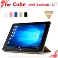 """High quality Original PU Leather Case for Cube iwork10 ultimate 10.1"""" tablet pc, iwork10 ultimate case cover"""
