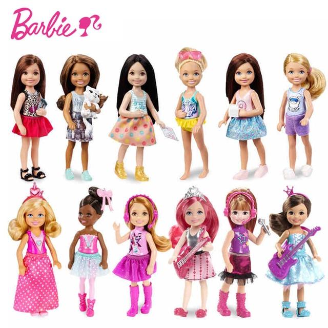 Barbie Original Mini Dolls 1 Pcs Model Random Cute Toy For