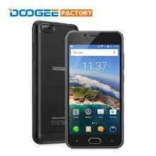 Оригинал Doogee Стрелять 2 Смартфон 2 ГБ RAM 16 ГБ MT6580A ROM Quad Core Android 7.0 5.0 дюймов 1280×720 3360 мАч Мобильных Телефонов