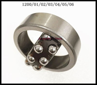 1pcs 1206 30x62x16 Self Aligning Ball Bearings Cylindrical Bore Double Row