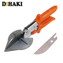 45-90 Degrees Multi Angle Scissors Electrical Mitre Siding Wire Duct Cutter PVC PE Plastic Pipe Hose Scissor home Plumbing Tool rdeer 42mm pvc pipe cutter pp r pu pe pipe plastic hose ratcheting cutters stailess steel blade cutting tool