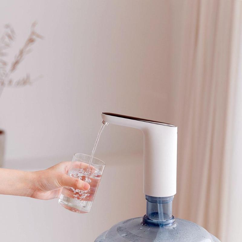 Usb Перезаряжаемые мини-автоматическое Беспроводной электрический портативный водяной насос Бутылки для воды диспенсер галлонов питьевой