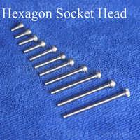 1Pcs Cap Screws M3 304 Hexagon Socket Head Hex Socket Screw Furniture Metric Bike Bolt Cylinder head inner hexagon screw