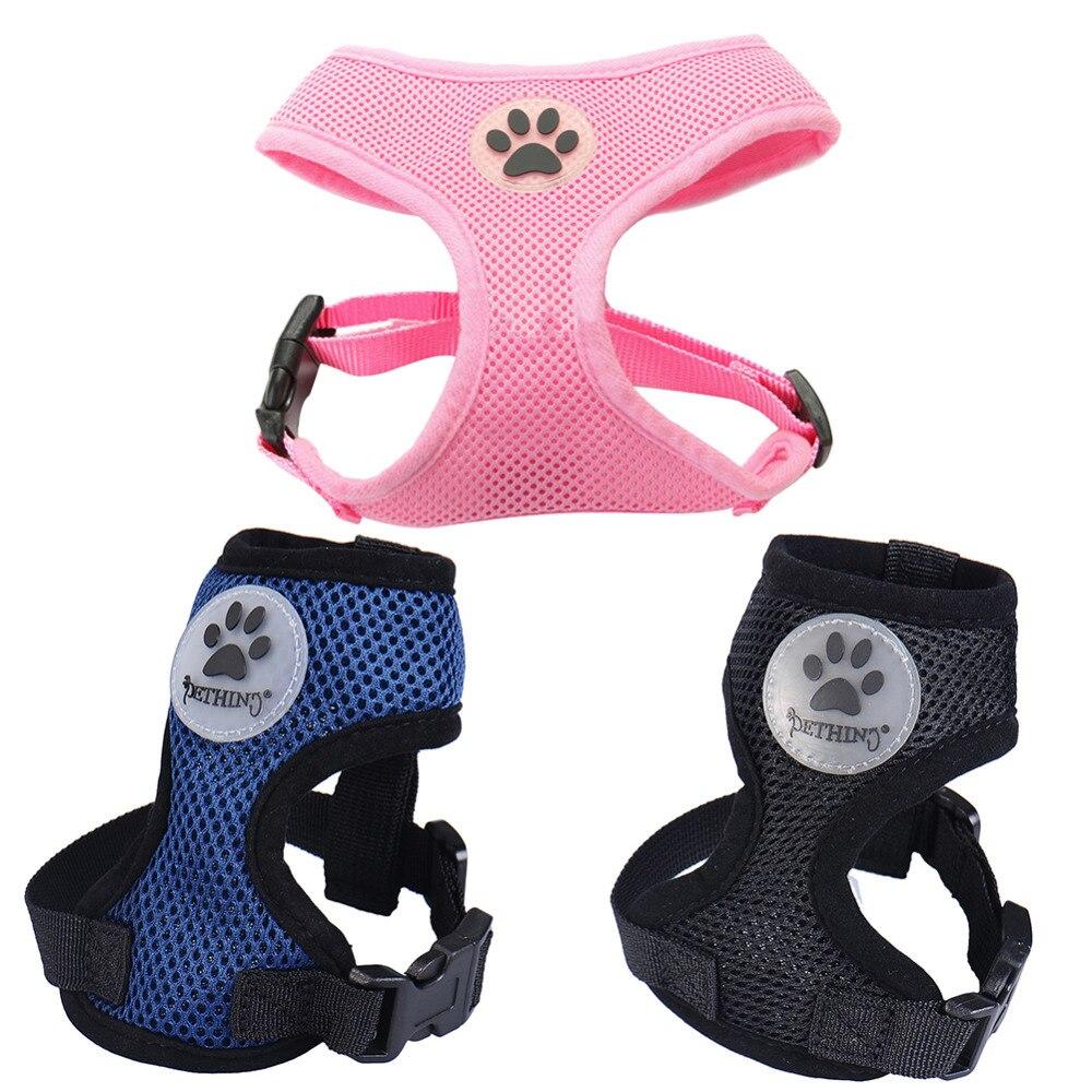 Malla de aire suave Acolchado Arnés para perro Arneses con suelas - Productos animales