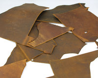 Passion Junetree LEATHER HIDES COW SKINS Thick Genuine Leather About 2mm Cowhide Spetches