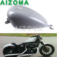Motorcycle Fuel Tank 3.3 Gallon Fuel Gas Tanks for Harley Sportster XL 1200 Iron 883 Super Low Forty-Eight Roadster 2007-2017 papanda black motorcycle 3 3 gallon efi gas tank fuel tank for harley davidson sportster xl 1200 883 2007 2017