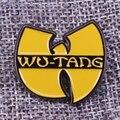 Классический значок Wu Tang Clan, музыкальный значок Wutang Rap, эмалированный значок