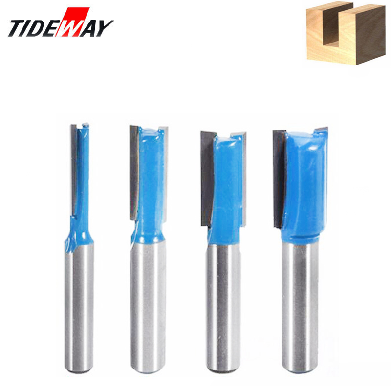 8mm Shank Straight Wood Router Bit Set Carpenter Milling Cutter Cutting Diameter For Turning Lathe Machine Woodworking Tool