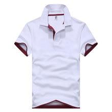 m-3xl  men's polo shirt men short sleeve cotton shirt jerseys polo shirts