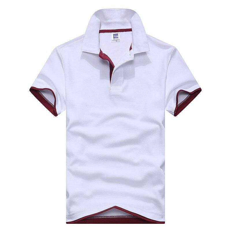 Plus größe m-3xl brand new herren polo shirt männer kurzarm baumwolle t-shirt jerseys polo shirts