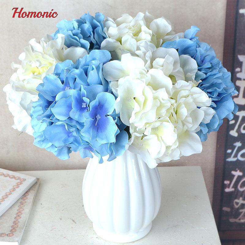 Hydrangea bouquet artificial silk flowers hydrangea heads hydrangea bouquet artificial silk flowers hydrangea heads artificial diy silk artificial wedding flowers accessories mightylinksfo
