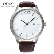 2016 new brand fashion sports watches couple watches and clocks date hours male and female students quartz watch retro belt.