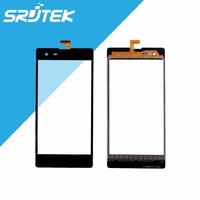 Black For Infinix Toceo X510 X511 High Quality 5 0 Touch Screen Digitizer Sensor Front Glass