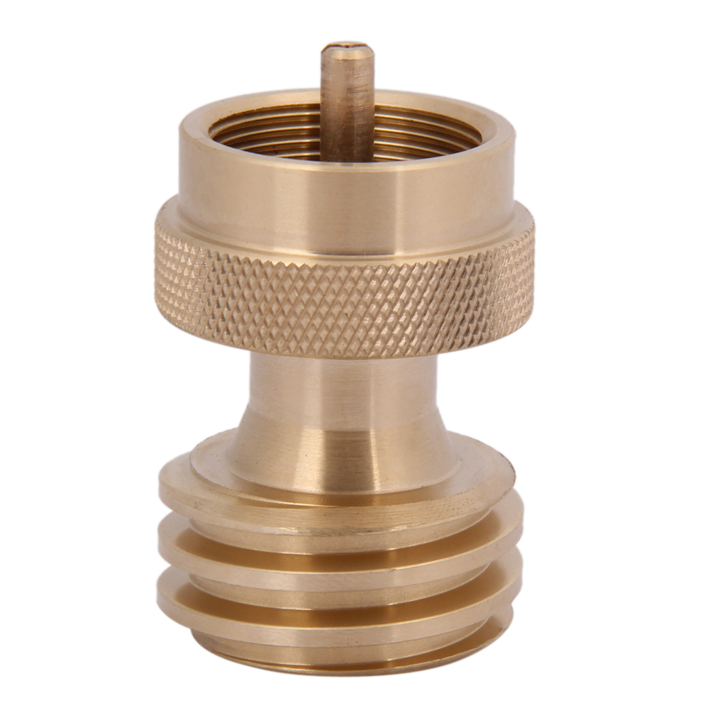 BBQ Grill Conversion Steak Saver Gas Grill Adapter 1 Pound <font><b>Propane</b></font> Tank Connector Hiking Camping Stove <font><b>Furnace</b></font> Converter