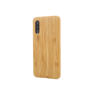 Image 5 - For Meizu 16s /16XS walnut Enony Wood Rosewood MAHOGANY Wooden Slim Back Case Cover