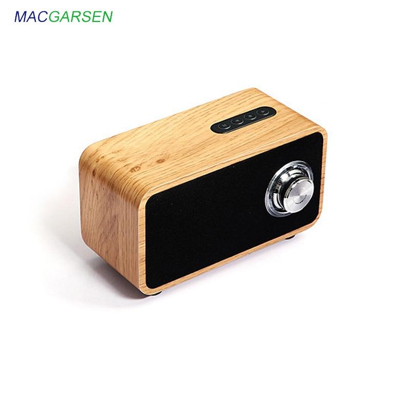 Haut-parleur Portable en bois Mini sans fil Bluetooth 4.0 haut-parleurs 4 ohms 10 W en bois petit TF FM haut-parleur de caisson de basses environnant la maisonHaut-parleur Portable en bois Mini sans fil Bluetooth 4.0 haut-parleurs 4 ohms 10 W en bois petit TF FM haut-parleur de caisson de basses environnant la maison