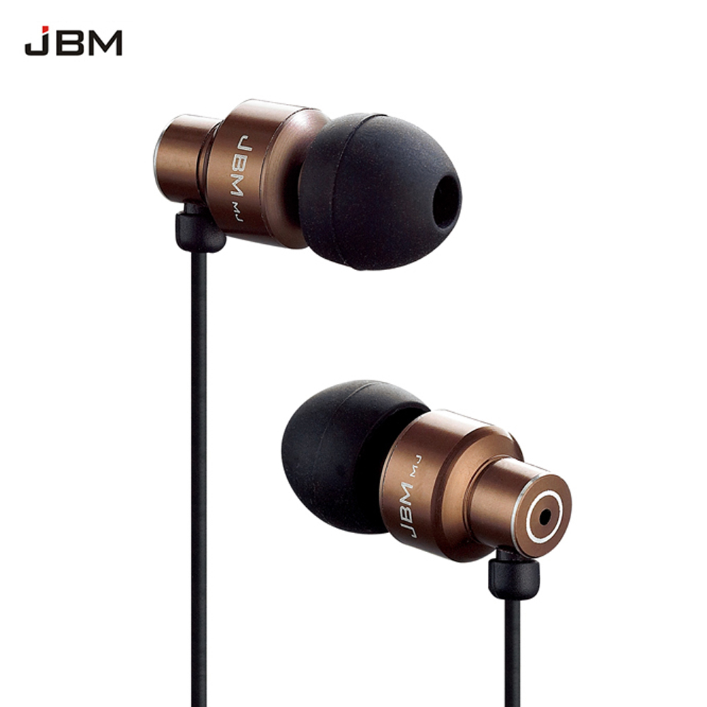 JBM MJ8600 Professional In-Ear Earphone for phone Stereo bass Earbuds wired headset for samsung iphone ipad PC