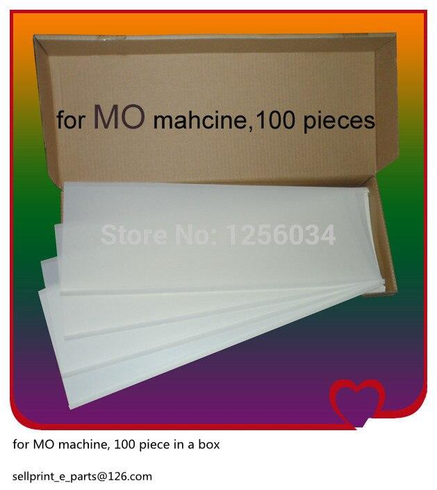 100 pieces heidelberg Ink Fountain Film for MO machine, heidelberg printing machinery parts 300 aaron printing doctor blade for printing machinery w30 40mmxt0 2mmxl100m