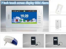 Big Discount X6 7inch Touch screen tablet GSM Alarm System Smart Home Secuirty Alarm System