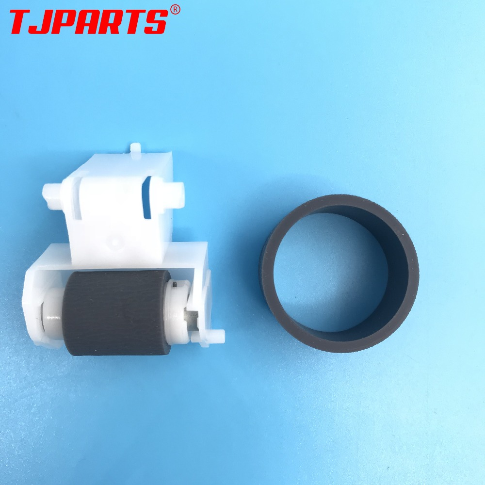 1SETX NEW Pickup Roller Feed Roller Separation Roller For Epson R250 R270 R280 R290 R330 R390 T50 A50 RX610 RX590 L801 L800 L805