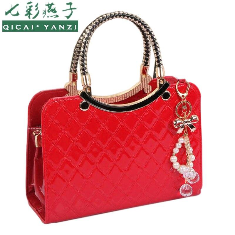 2017 Fashion Women Messenger Bag Ladies Tote Purse Hobo Handbag Hard Leather Shoulder Bags High Quality
