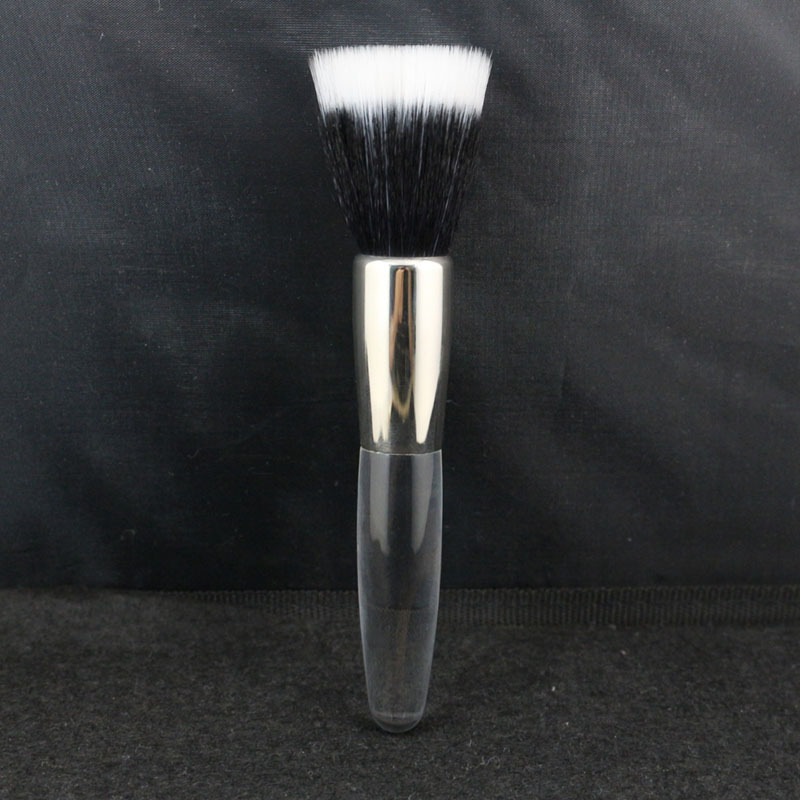 Top Quality Duo Fiber Makeup Brush Face Foundation Powder Tool Mistake Proof Sheer Application Brush
