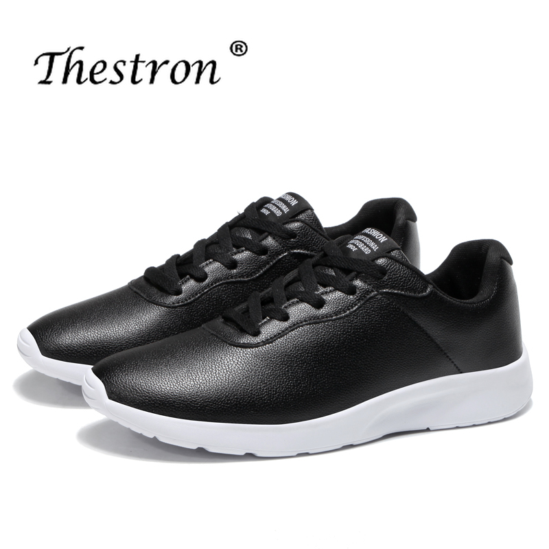 Big Size Couples Running Shoes 36-47 Jogging Male Sneakers Spring Autumn Female Sports Black White Walking